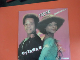 Vinyles 45 T  Ottawan   T'es Ok   Comme Au U.S.A. - Disco, Pop