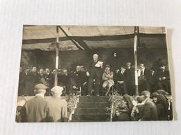 Carte - Photo Inauguration Monument Aux Morts Grande Guerre Le 27 Novembre 1921 Avec Les Noms Des Personnes Présentes - Riscle