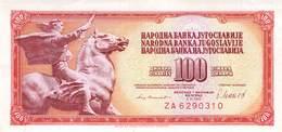 100 Dinar Jugoslawien 1981 UNC (I) - Jugoslawien