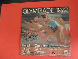 Vinyles 45 T  Hymme Des Jeux Olympiques 1972 - Musicals