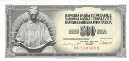 500 Dinar Jugoslawien 1981 UNC (I) - Jugoslawien