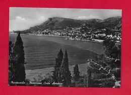 CARTOLINA VG MONACO - MONTE CARLO - Panorama Costa Azzurra - 10 X 15 - ANN. 1954 - Viste Panoramiche, Panorama