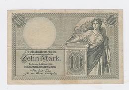 10 Mark Du 6-10-1906 Pick 9 - [ 2] 1871-1918 : Duitse Rijk