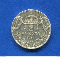 Hongrie  2  Korona  1913  Arg - Hungría