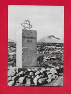 CARTOLINA VG NORVEGIA - Saltfjellet - Polarsirkelstotten - 10 X 15 - ANN. 1953 - Norvegia