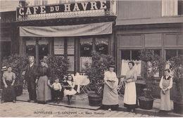 HONFLEUR (14) - Café Du Havre - Couffin - Sans Date - Honfleur
