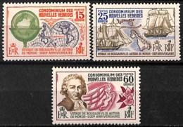 [828430]TB//**/Mnh-Nouvelles-Hébrides         1968 - N° 267/69, Légendes Françaises, Voyage De Bougainville, Bateaux, SC - French Legend