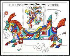 BRD - Mi Block 35 = 1853 - ** Postfrisch - 100Pf  Für Uns Kinder 96 - [7] República Federal