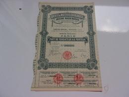 MATERIEL CHIRURGICAL (maison Mathieu) 1921 - Acciones & Títulos