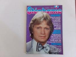 "Revue "" Stéphanie "" N° 35, 1977, "" Sheila, Sylvie Vartan, David Bowie, Alain Chamfort ... "" - People"