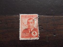 SPAGNA 1945 HAYA 4 P USATO - Usati
