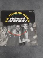 Disque De Richard Anthony - ça Tourne Rond - Columbia ESRF 1327 - 1961 - - Rock