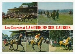 Les Courses à LA GUERCHE SUR L'AUBOIS - Format CPM - La Guerche Sur L'Aubois