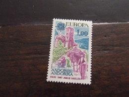 ANDORRA 1977 EUROPA 1 F  NUOVO ** - Europa-CEPT