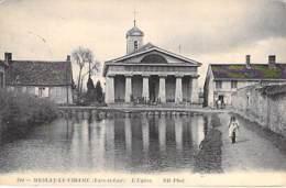 28 - MESLAY Le VIDAME : L'Eglise - CPA Village ( 550 Habitants ) - Eure Et Loir - Autres Communes