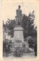 57 - COURCELLES CHAUSSY : Monument De La Guerre 1914-1918 - CPA Village ( 3.100 Habitants ) Moselle - Frankreich