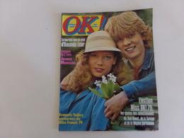 "Revue "" Ok Age Tendre "" N° 172, 1979. "" François Valéry, Amanda Lear, Rod Stewart ... "" - People"