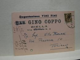 BIELLA     ---  VINO  - UVA  - ACCESSORI  -   GINO COPPO  -- DEGUSTAZIONE  VINI - Vigne
