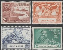 Gold Coast 1949 - SG 149-152 - UPU, 75th Anniversary - MNH SET - Gold Coast (...-1957)