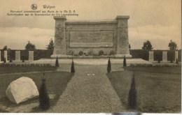 Wulpen  Monument Commemoratif Aux Morts - Koksijde