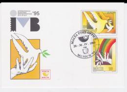 Malta 1995 Postal Stationary Used IVB Munich Europa CEPT (G99-35) - 1995