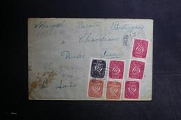PORTUGAL - Enveloppe De Silvahes Pour La France En 1947  , Affranchissement Plaisant - L 31306 - 1910-... République
