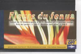 POLYNESIE Française - Flore - Fleurs Du Fenua (terre, Territoire, île, En Tahitien) - Orchidée, Tiaré, Bougainvlllé, - Carnets