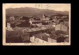 C1312 BATNA - VUE GÉNÉRALE DE LA VILLE CIRCULÉE 1926 - Batna