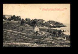 C1318 SENEGAL - DAKAR - CASERNES ET POINTE DE LA DEFENSE CIRCULÉE 1921 - Senegal