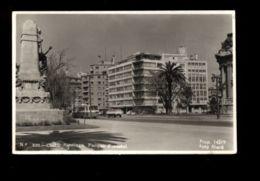 C1324 CHILE - SANTIAGO DEL CHILE - PARQUE FLORESTAL CON CARROS E AUTOCAR FOTOGRAFICA FOTO MARA VIAJADA 1955 - Cile