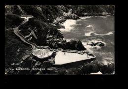 C1326 MEXICO - ACAPULCO - LA QUEBRADA VIAJADA 1951 - Messico