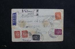 PORTUGAL - Enveloppe En Recommandé Pour La France En 1946  , Affranchissement Plaisant - L 31309 - 1910-... République