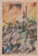 "Cartolina  - Postcard /non Viaggiata -  Not Sent -  40° Reggimento Fanteria "" Bologna "" - Regimenten"
