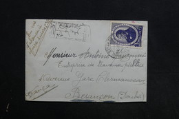 PORTUGAL - Enveloppe En Recommandé Pour La France En 1945  , Affranchissement Plaisant Recto Et Verso - L 31310 - Lettres & Documents