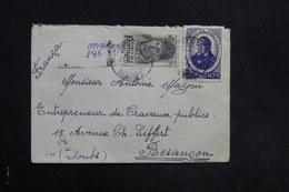 PORTUGAL - Enveloppe En Recommandé Pour La France En 1946  , Affranchissement Plaisant - L 31311 - 1910-... République