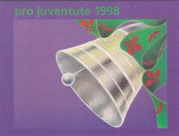 SCHWEIZ Markenheftchen 0-112, Gestempelt, Pro Juventute 1998 - Booklets