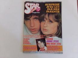 """Revue  """" Star """" Johnny Et Sylvie, Elvis, Travolta ... """" ( Pages Désolidarisées ) - People"""