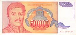 50 000 Dinar Jugoslawien 1994 UNC (I) - Jugoslawien