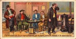 3 Chromos Chocolat - Chocolaterie Aiguebelle Drome - Anti Alcoolisme - Bill-863 - R/V - Aiguebelle