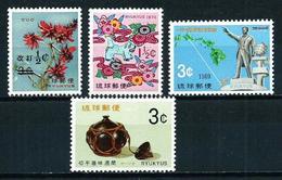 Ryu Kyu (Administración Americana) Nº 182/5 Nuevo - Ryukyu Islands