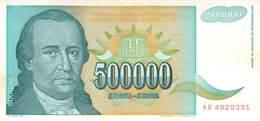 500 000 Dinar Jugoslawien 1993 UNC (I) - Jugoslawien