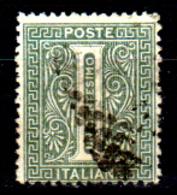 Italia-G-0107 - Emissione 1863-65 (o) Used - Senza Difetti Occulti. - 1861-78 Vittorio Emanuele II