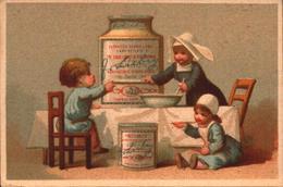 Chromo Liebig S42 Testu Et Massin Champenois Enfants Repas Religieuse Gros Pot - Bill-864 - R/V - Liebig