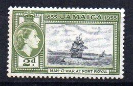 Sello De Jamaica. - Barcos