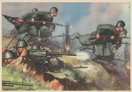 """Cartolina  - Postcard /non Viaggiata -  Not Sent -  CXI Battaglione Mitraglieri  Autocarrato """" ET Ultra """" - Regimenten"""