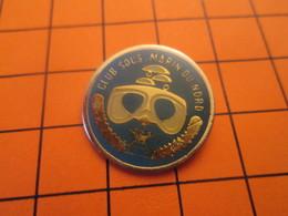 812c Pins Pin's / Rare & Belle Qualité  THEME SPORTS / PLONGEE SOUS MARINE CLUB SOUS MARIN DU NORD - Plongée