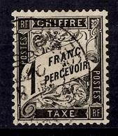 France Timbre Taxe YT N° 22 Oblitéré. Premier Choix. A Saisir! - Postage Due