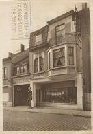 Court Saint Etienne  Garage Lalieux Pompe Essence Pub Texaco Marfak Format 10/15 . Leger Pli Coin Sup. D. Art Deco - Court-Saint-Etienne