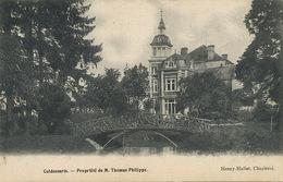 Culdessarts Propriété De M. Thomas Philippe Edit Henry Hallet Charleroi 1901 Vers Marbehan - Cul-des-Sarts
