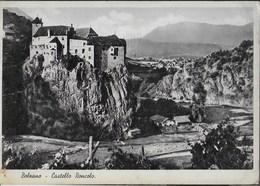 """CASTELLO RONCOLO - BOLZANO - EDIZ, CESARE CAPELLO MILANO 1934 - ANNULLO A TARGHETTA"""" LA LOTTERA..."""" UFF BOLZANO 1935 - Castelli"""